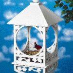 Kuş Evi Kıl Testere Motifi