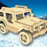 Jeep Modeli Kıl Testere Motifi